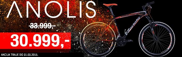 Capriolo Anolis MTB bicikla akcija