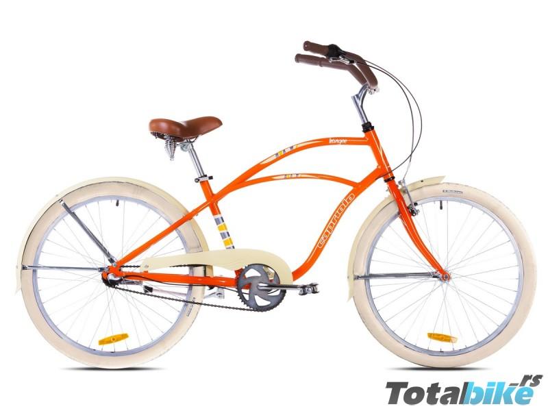 kangee capriolo cruiser kruzer prodaja srbija narandzasti bicikl