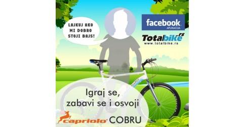 Zabavi se i osvoji bicikl Capriolo COBRA!