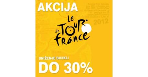 Veliko sniženje bicikli u susret Tour de France 2012