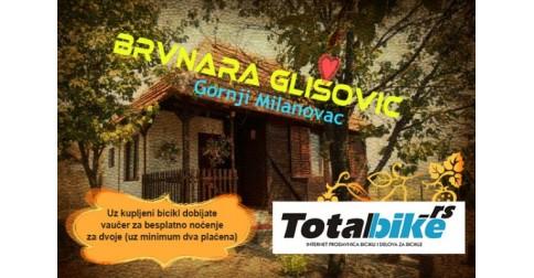 Brvnara Glišović i Totalbike