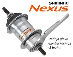 Shimano Nexus glava 3 brzine