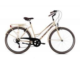 capriolo bicikl citysix lady bež