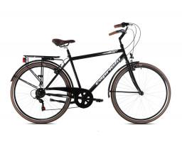 capriolo bicikl citysix man crno black