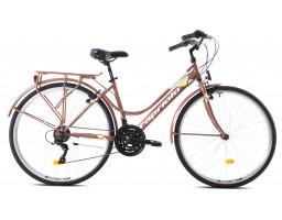 capriolo bicikl sunrise lady 2020 braon