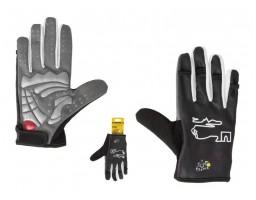 TOUR DE FRANCE rukavice sa prstima platnene+gel