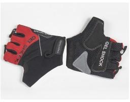 Capriolo rukavice platnene sa gelom CP1302 crvene