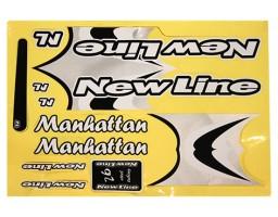 Nalepnica za bicikl - New Line