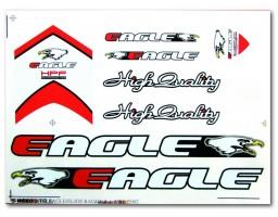 Nalepnica za bicikl - Eagle