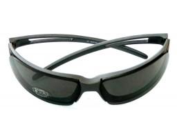 MIDWAY tamno sive naočare sa crnim staklima