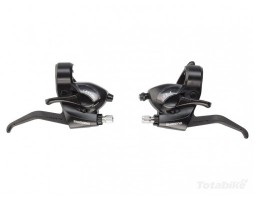 Ručice menjača i kočnica SHIMANO ST-EF40 3x6