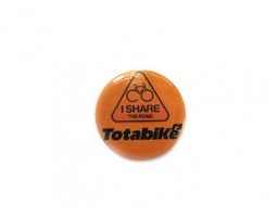Totalbike - I Share Road - bedž