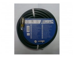 ABAC gumeno crevo kompresor sa spojkama 10m