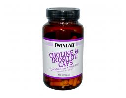 TWINLAB Choline & Inositol Caps 100 kapsula