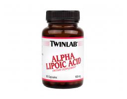 TWINLAB Alpha-Lipoic Acid 100mg 60 kapsula