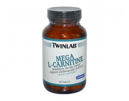 TWINLAB Mega L-Carnitine Tabs 60 tableta