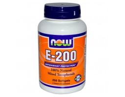 Now Foods Vitamin E-200 100 kapsula