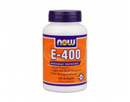 NOW Foods vitamin E 400 IU Selenium 100 kapsula