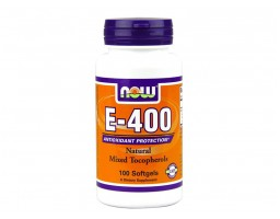 NOW Foods vitamin E 400 IU 100 kapsula