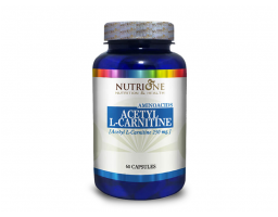 NUTRIONE Acetyl L-carnitine 250 mg 60 kapsula