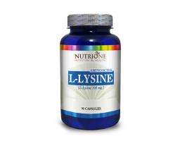 NUTRIONE L-Lysine 500 mg 90 kapsula