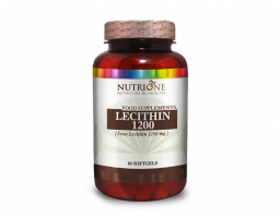 NUTRIONE Soy Lecithin 1200 mg 80 gel kapsula