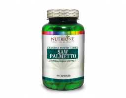 NUTRIONE Saw Palmetto Extract 60 kapsula