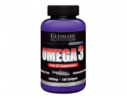 Ultimate Nutrition Omega-3 (180 kapsula)