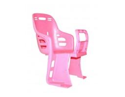 Dečije sedište za montažu na prtljažnik - pink
