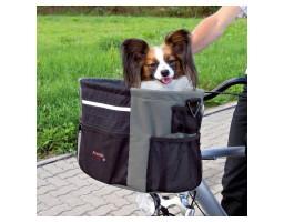 Korpa za vožnju psa na biciklu