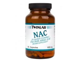 TWINLAB NAC (N-Acetyl-Cysteine) 60 kapsula
