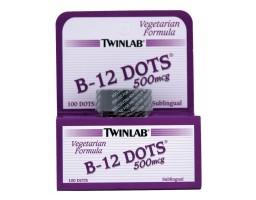 TWINLAB B-12 Dots 500mcg 100 pastila