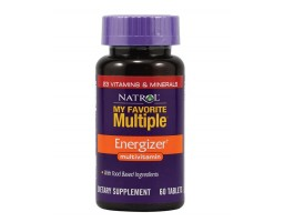 Natrol My Favorite Multiple Energizer 60 tableta