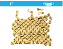 Lanac KMC X-9 Gold